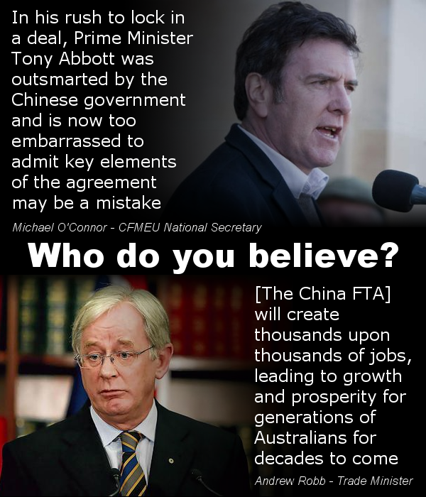 What Does The Chafta Really Mean For Aussie Jobs Written By