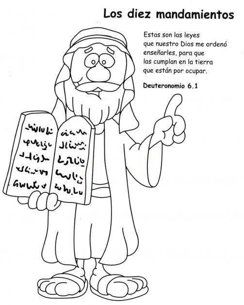 ME ABURRE LA RELIGIÓN: ACTIVIDADES. LOS DIEZ MANDAMIENTOS | DIBUJOS ...