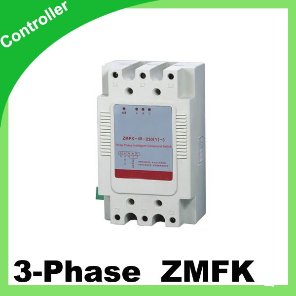 Zmfk Three Phase Intelligent Composite Switch With Thyristor Controll 380v 45kvar Control Capacitor Capacity Capacitor Hard Surface Modeling Power