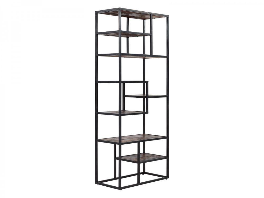 Details zu Bücherregal Regal Bücherschrank Wohnzimmer Holz Akazie - mobel braun wohnzimmer