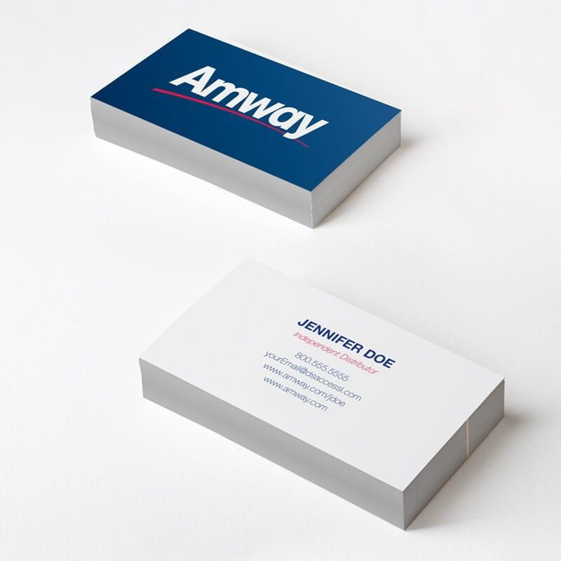 Amway Blue Business Cards #dsaccess #amway #businesscards ...