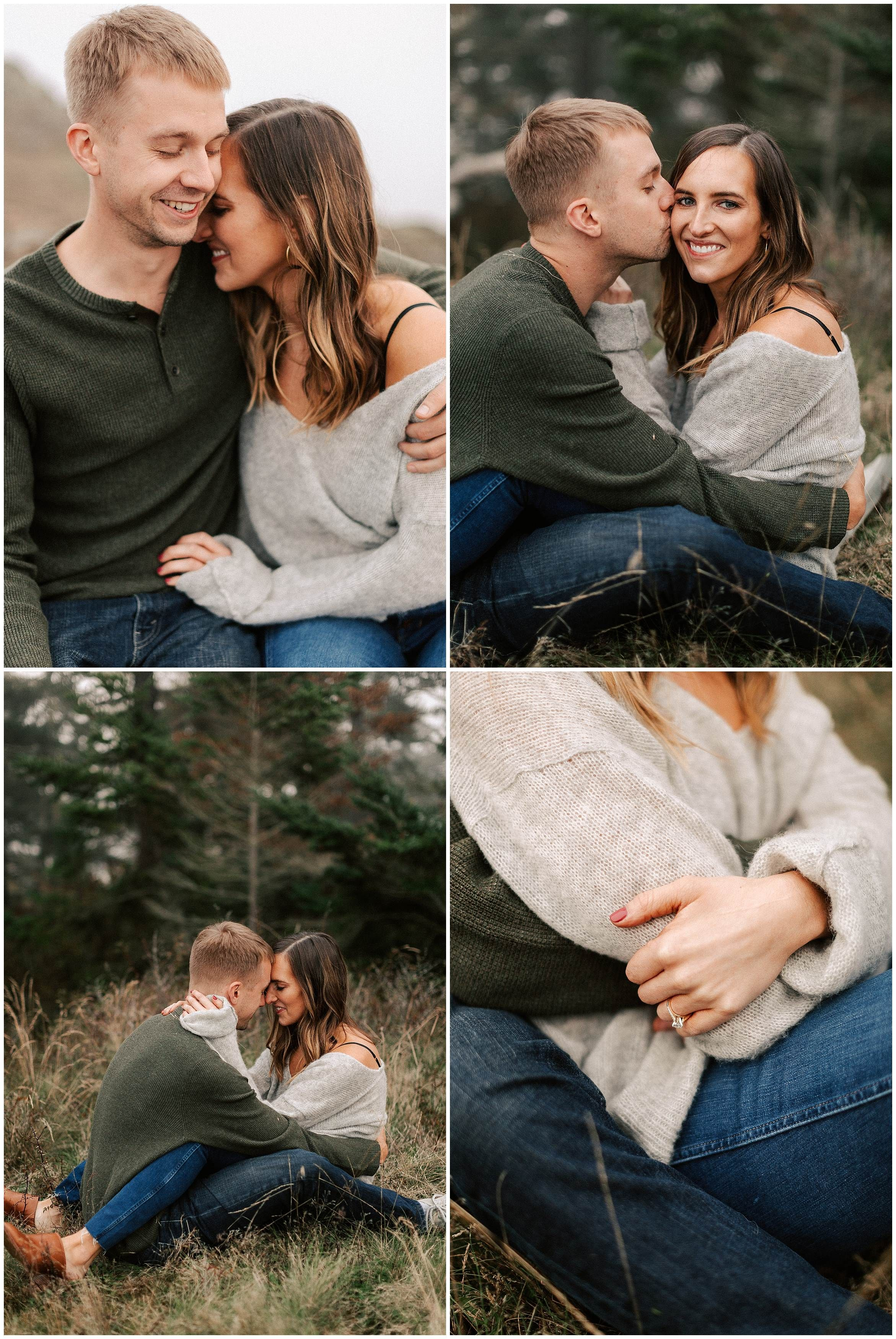 Outdoor Engagement Photos Outfit Ideas In The Pnw By Kyle Goldie Of Luma We Engagement Photo Outfits Spring Engagement Photos Fall Engagement Pictures Outfit