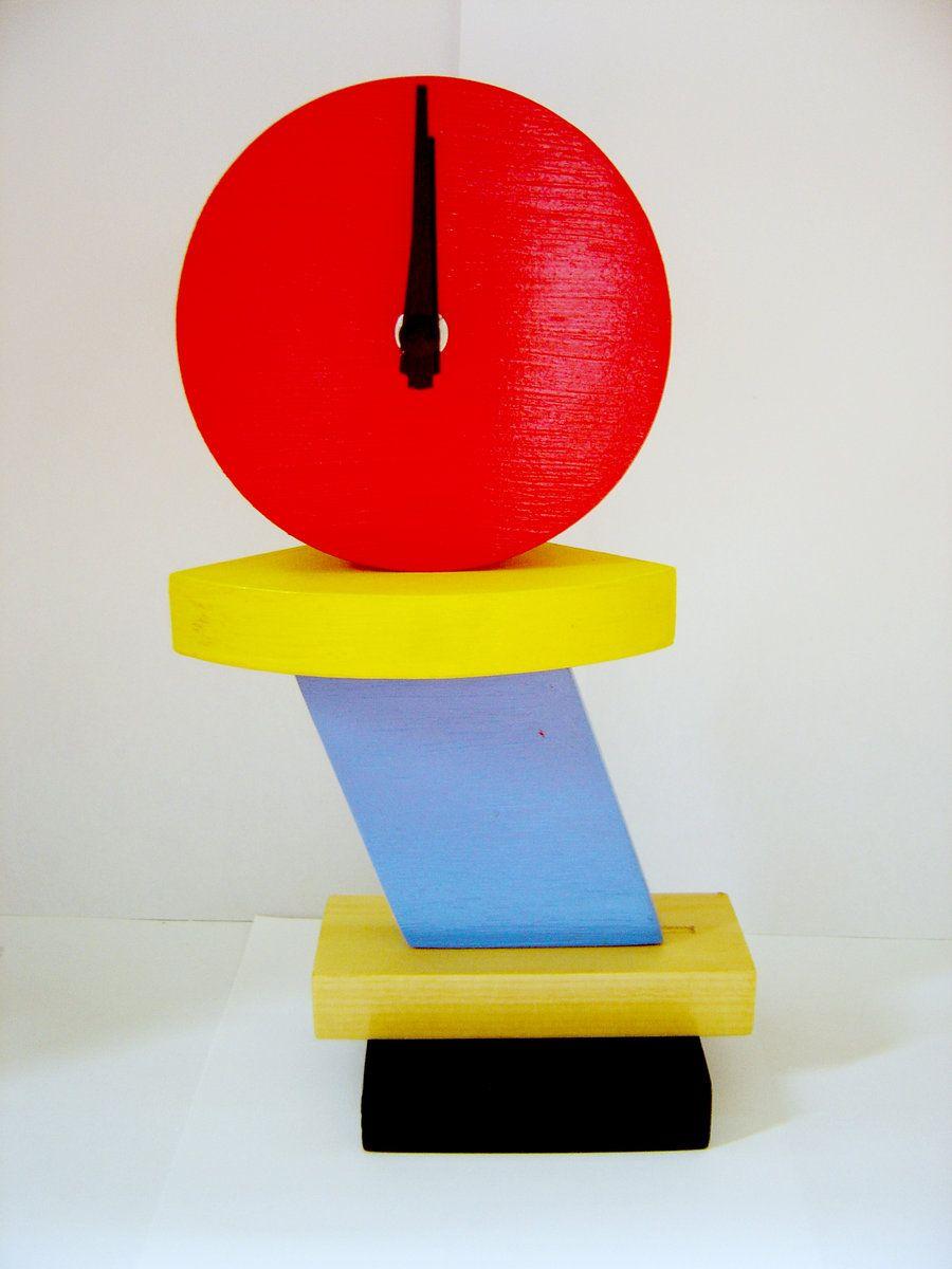 this is a memphis clock mood board pinterest memphis. Black Bedroom Furniture Sets. Home Design Ideas