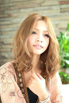 #perm #wavy #medium #Japanese #hairstyle