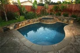 Small Corner Swimming Pool Swimming Pools Backyard Backyard