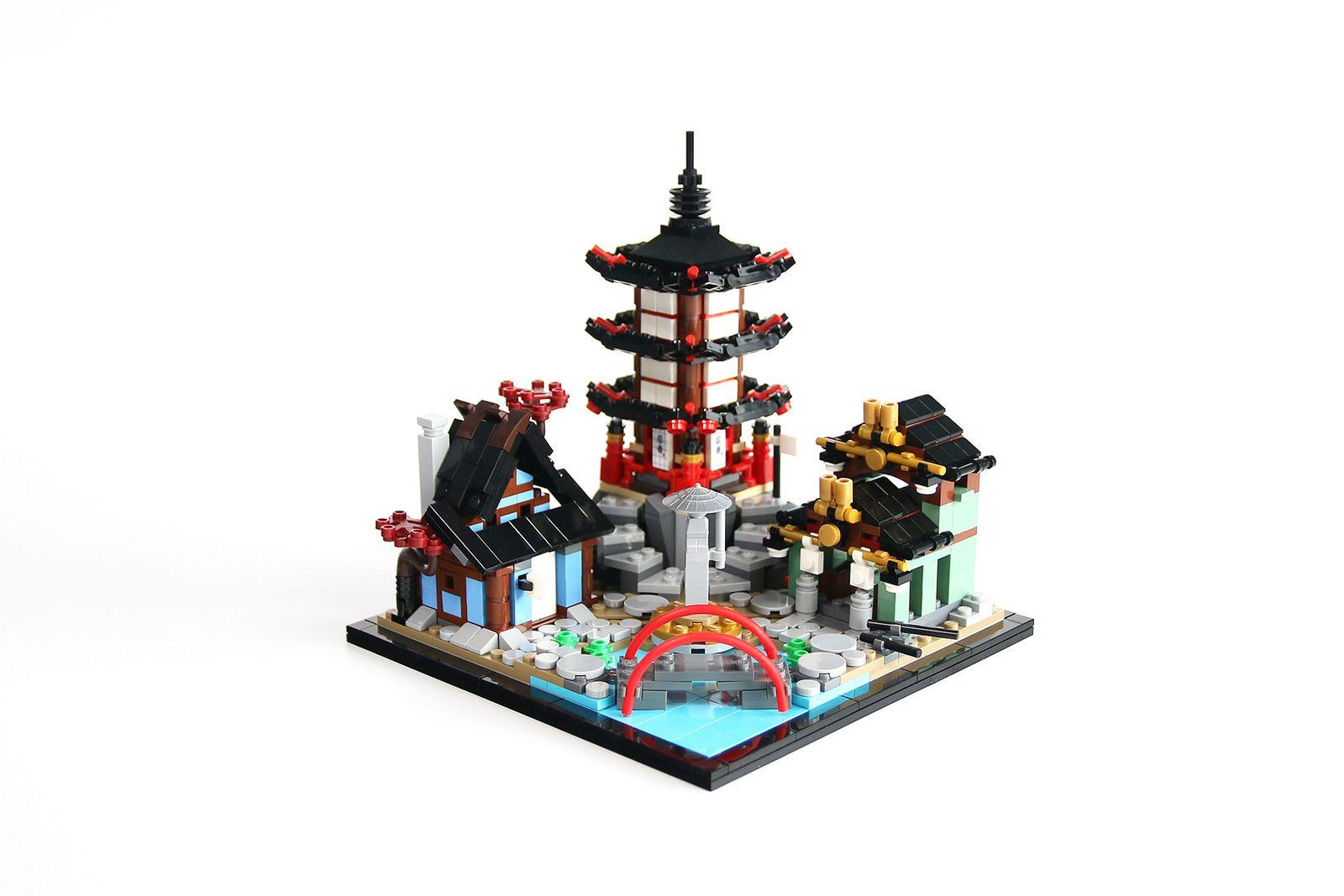 Mini Temple Of Airjitzu Lego Ninjago Micro Lego Lego Ninjago City