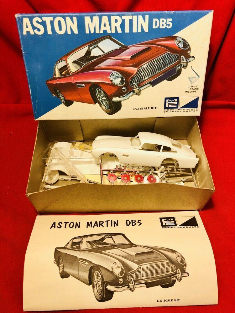 Vintage Aston Martin Db5 1 32 Scale Model Kit 7502 100 Complete In Box Ebay Aston Martin Db5 Aston Martin Db5