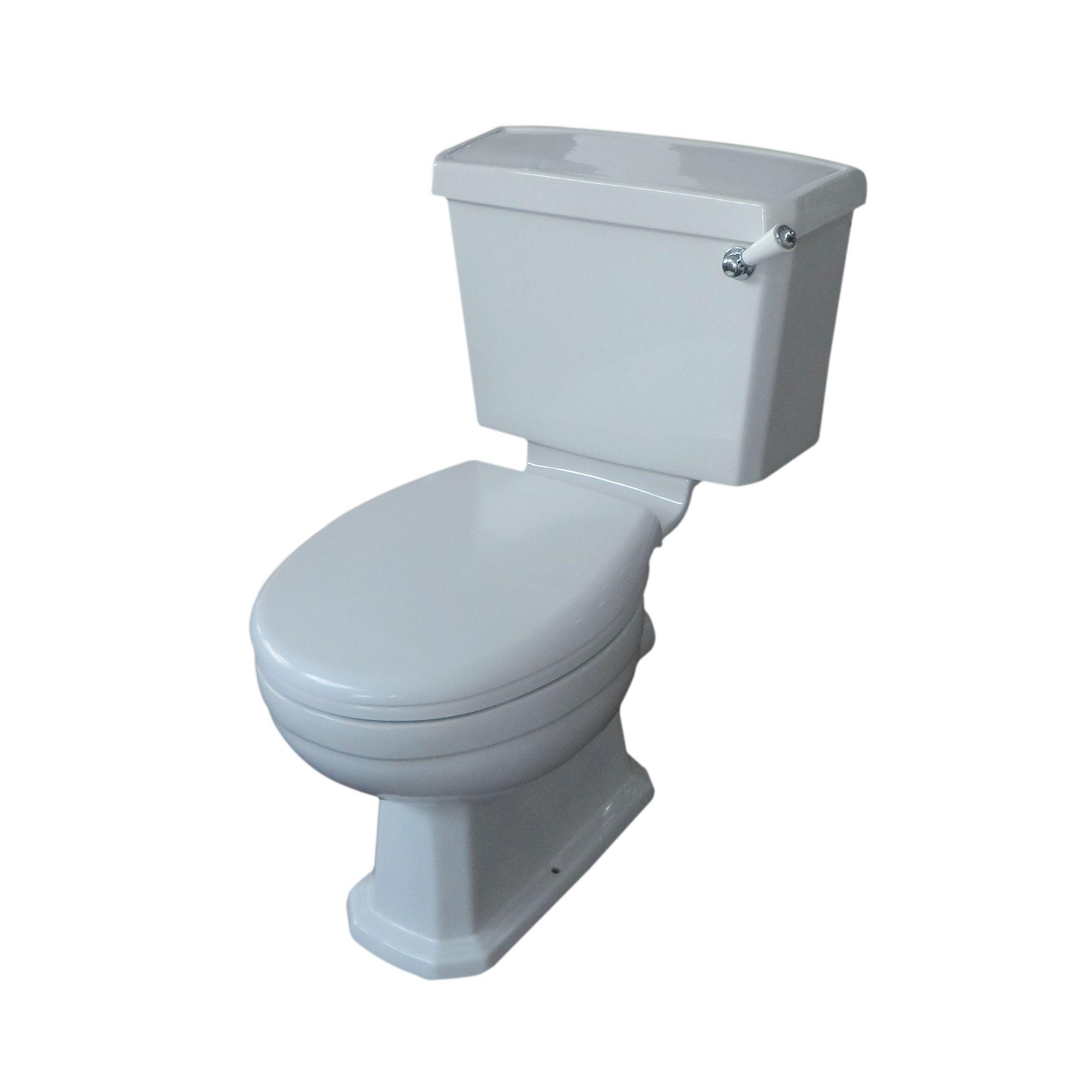 Fine Cooke Lewis Serina Close Coupled Toilet With Soft Close Creativecarmelina Interior Chair Design Creativecarmelinacom