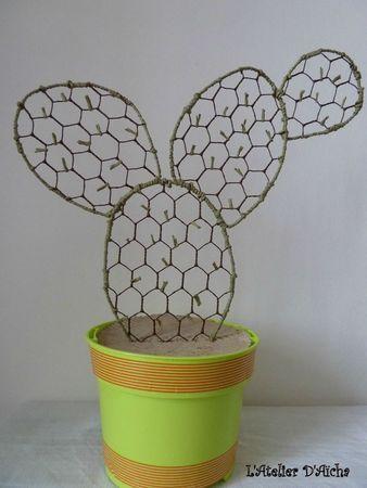 Cactus : qui s'y frotte s'y pique - L' Atelier d'Aïcha | wire