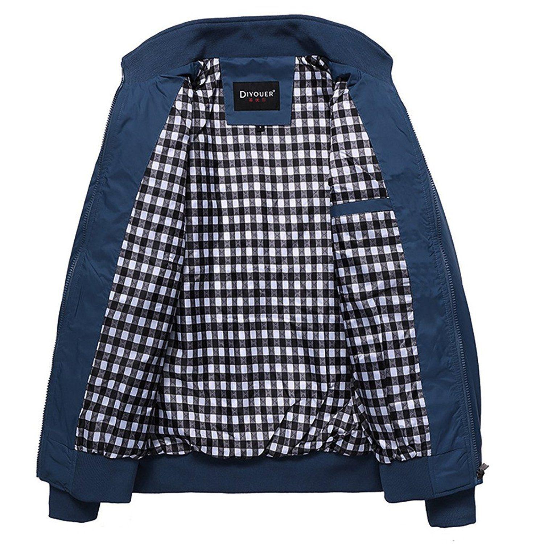 5b8680bb2 Nantersan Mens Casual Jacket Outdoor Sportswear Windbreaker ...