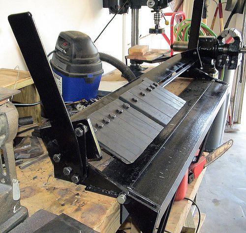 Bench-top Box/Pan Sheet Metal Brake, by J. Hartnell   Flickr