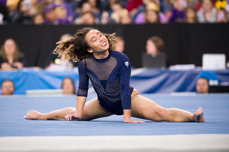 UCLA gymnast Katelyn Ohashis flawless floor routine