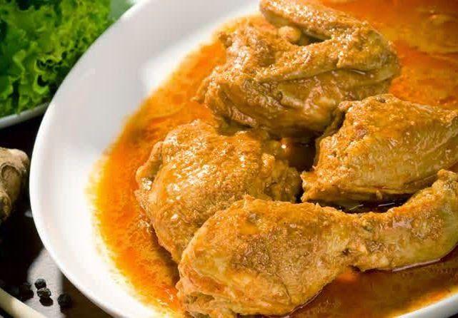 Resep Ayam Goreng Bumbu Gulai Paling Praktis Kari Ayam Resep Ayam Kari Resep Ayam