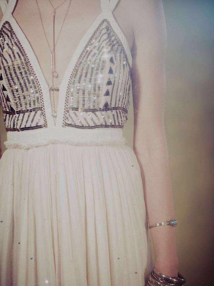 Free People Golden Chalice Maxi at Free People Clothing Boutique