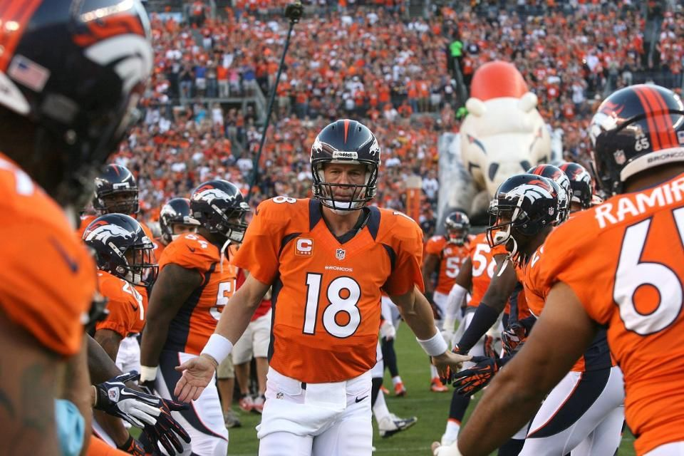 Peyton Manning!! We here in the 303 call him PFM.