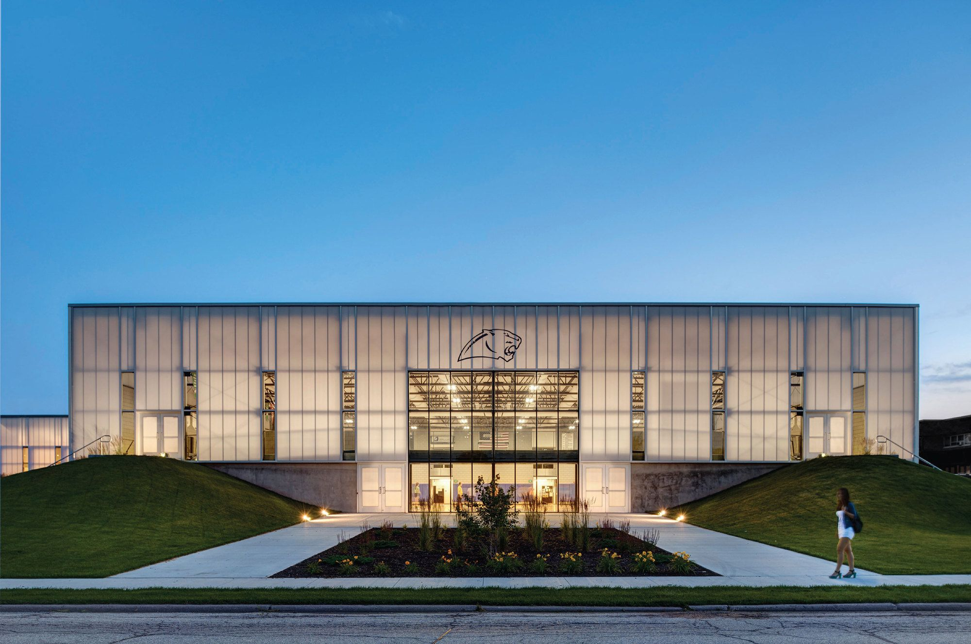 Cascade high school expansion neumann monson architects