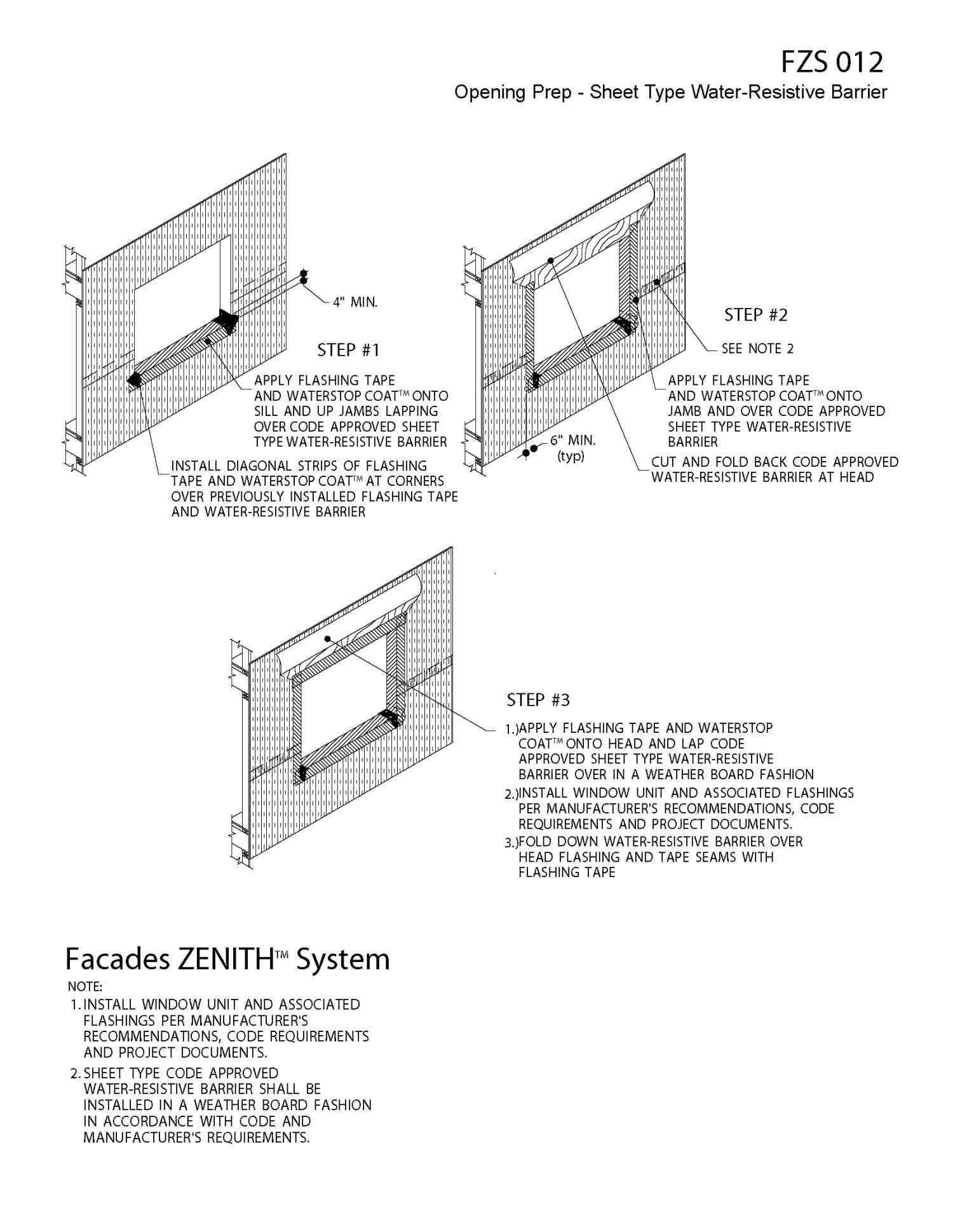 How to install window flashing tape - Eifs Wall Flashing Detail Yahoo Image Search Results