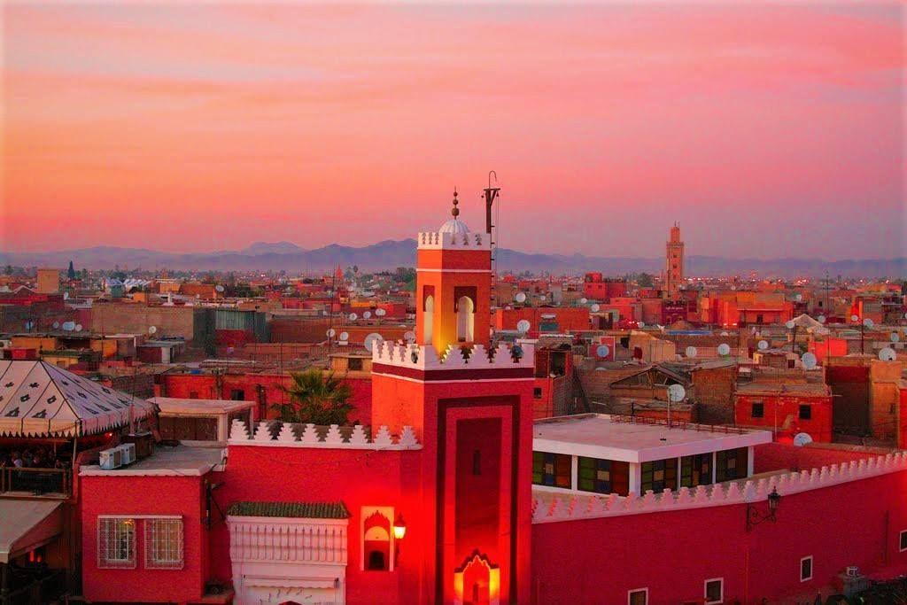 Картинки по запросу марокко красный город