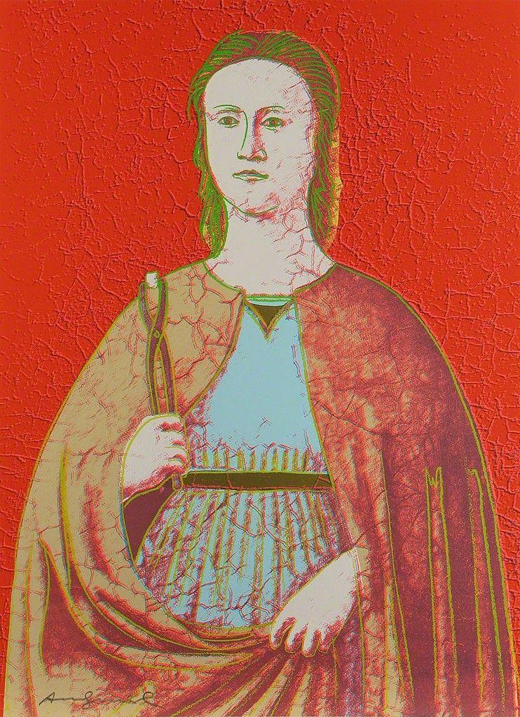 Saint Apollonia (FS II.331)   Andy Warhol, Saint Apollonia (FS II.331) (1984)