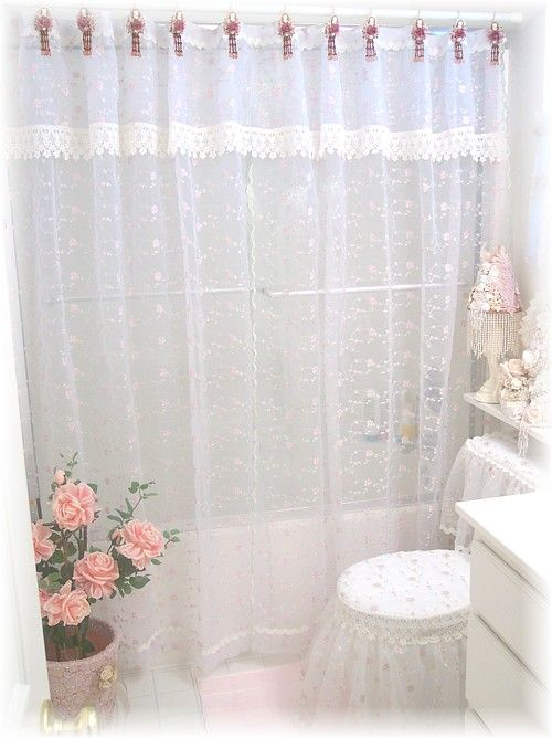 Toilet Ensemble And Shower Curtain Unique Certains Window Stuff Pinterest Victorian Curtains Rooms