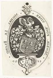 Michel Le Blon (1587-1658) He lived from 1639 to the end of his life, at Keizersgracht 226. His motto 'mourir pour vivre - die to live - shows the bird phoenix, which sinks into the fire and from its ashes glorious.