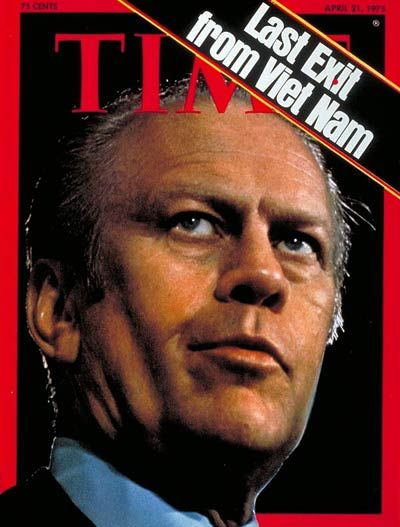 TIME Cover: Gerald Ford 1975