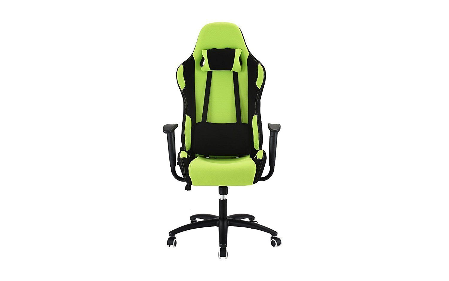 Superb New Century Lime Green Computer Gaming Chair With Lumbar Forskolin Free Trial Chair Design Images Forskolin Free Trialorg