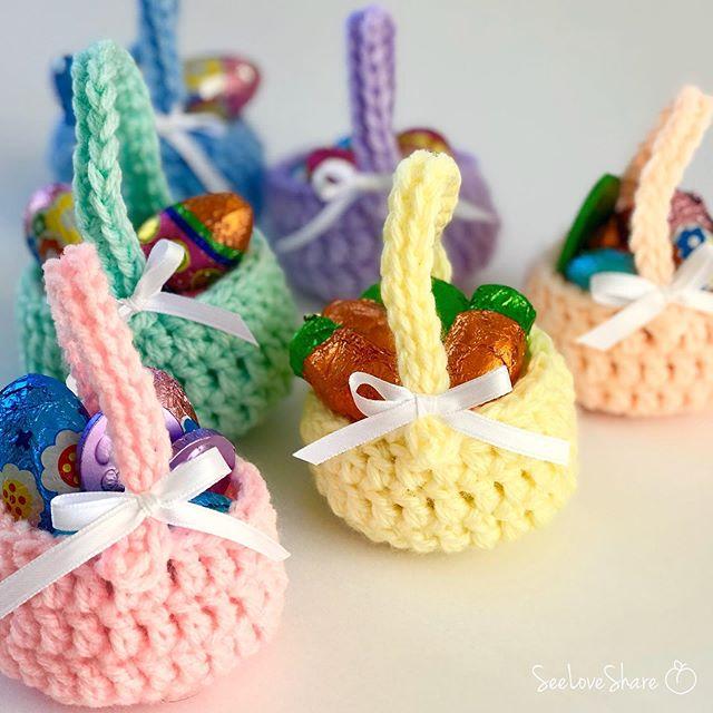 Crochet Easter Egg Basket