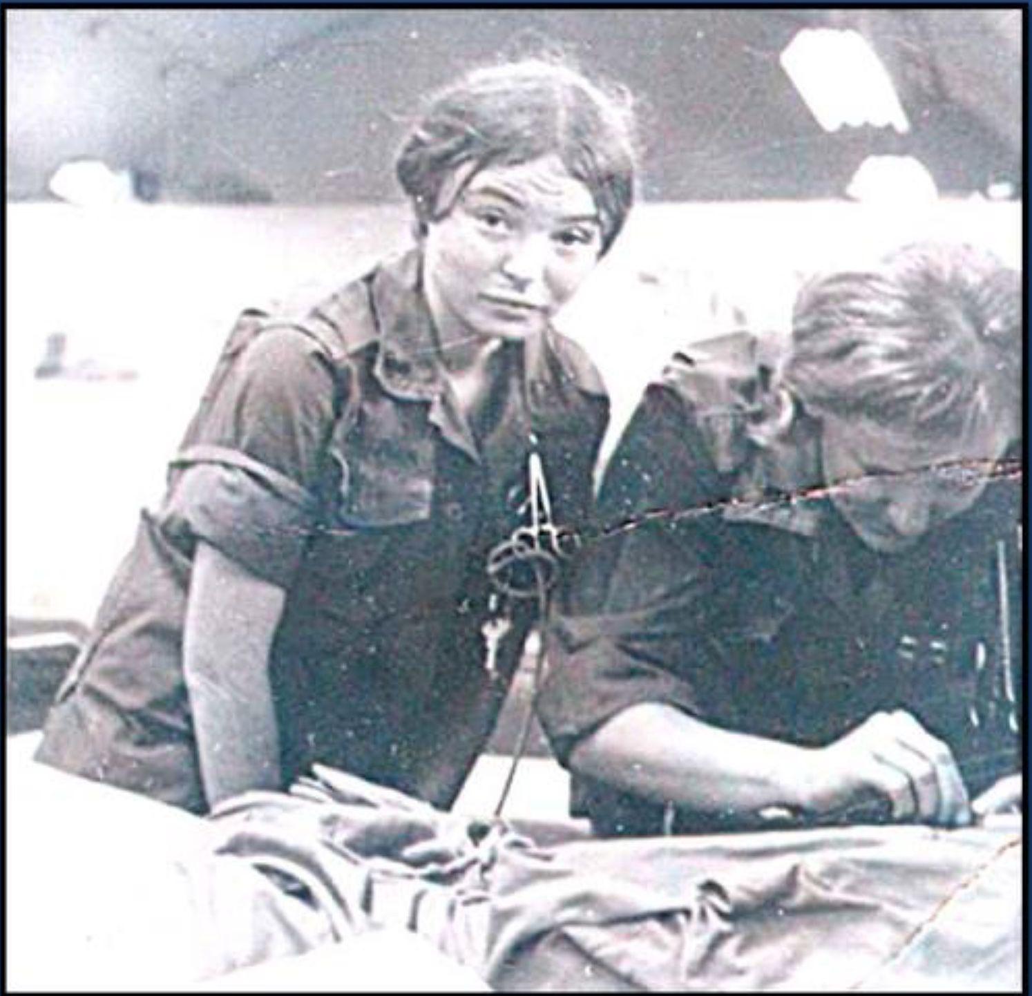 Chu Lai 91st Evac Hospital Nurses Unknown
