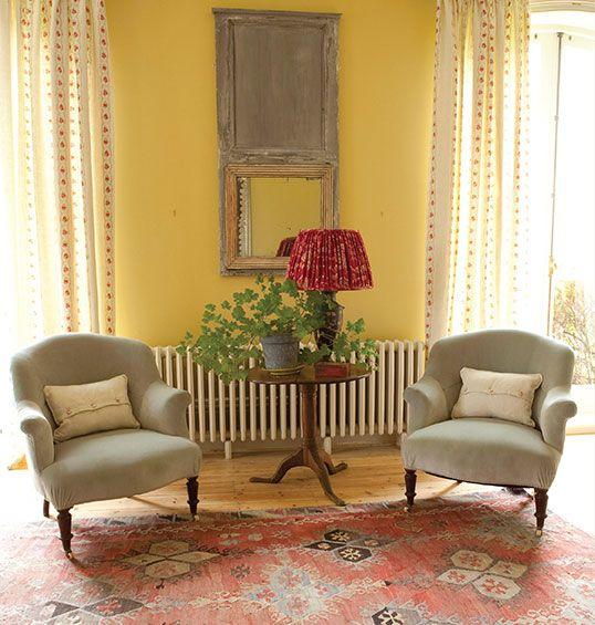 Decor, Blue Velvet Chairs