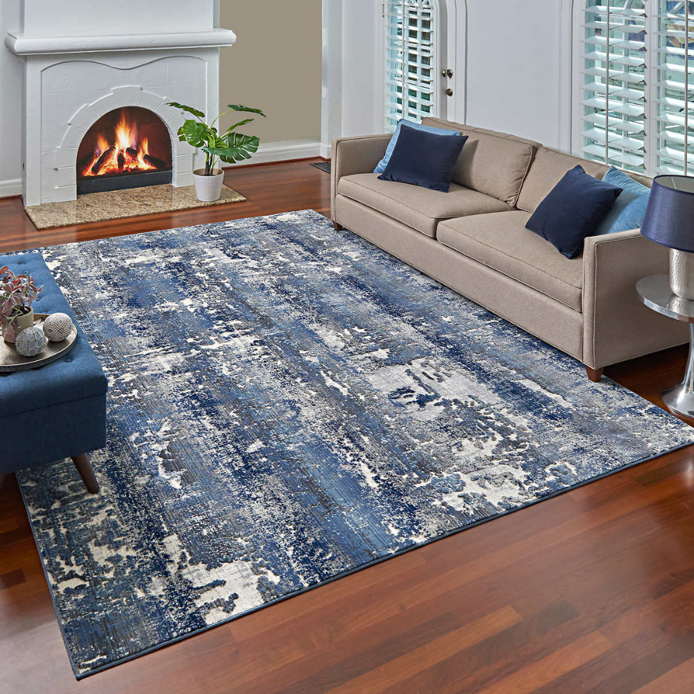 Regio Area Rug Or Runner Collection Hobart In 2020 Area Rugs Rugs In Living Room Navy Living Rooms #runner #for #living #room