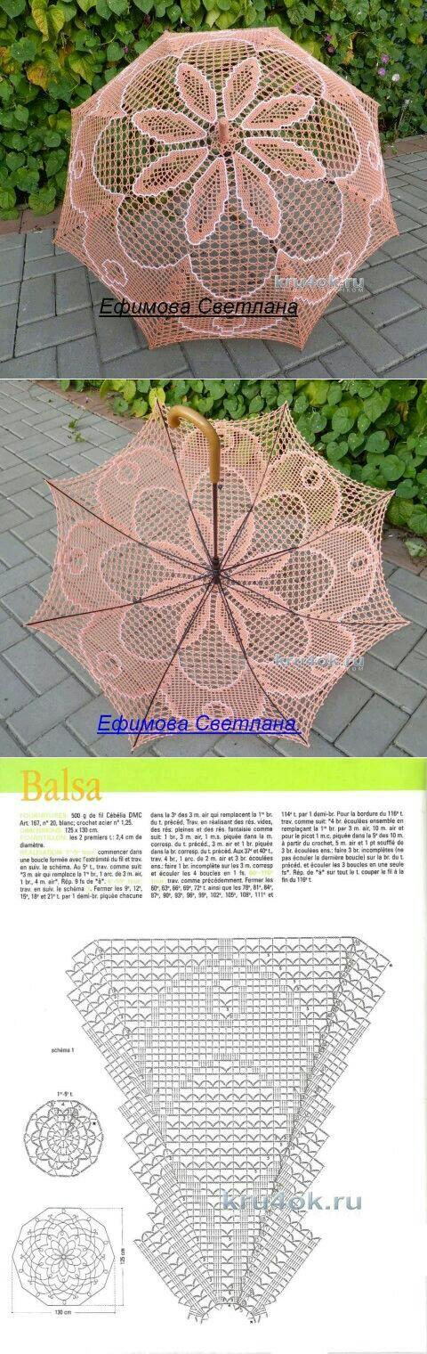 Crochet Umbrella Crochet Pinterest Schirm Häkeln Und Sonnenschirm