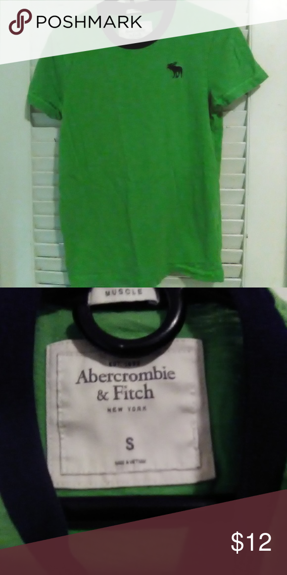 15bfe871 Young Mens Abercrombie and Fitch Green Tee Size S Young Mens Abercrombie  and Fitch Green Tee Shirt Size S Abercrombie & Fitch Shirts Tees - Short  Sleeve