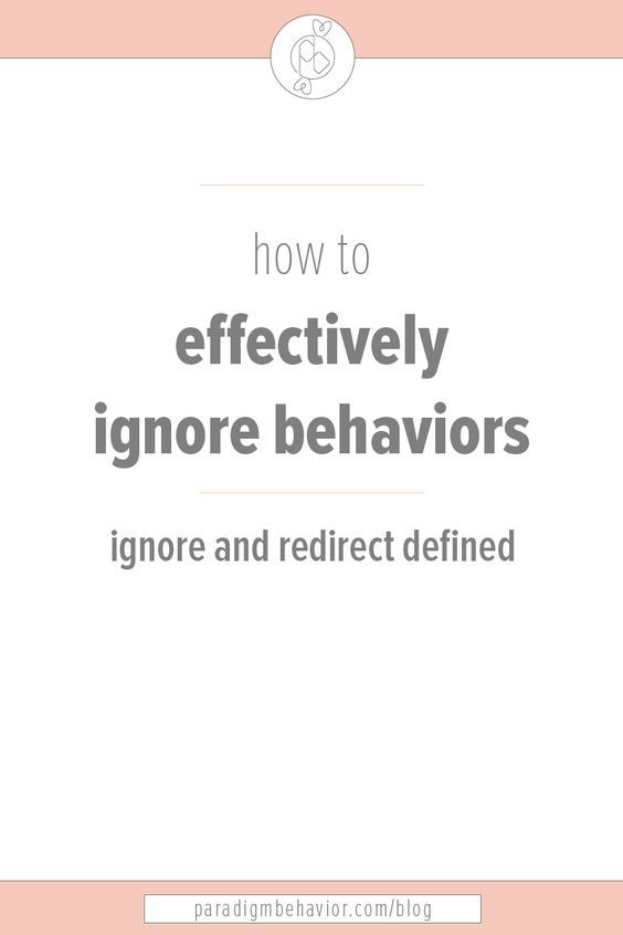 Ignore \ Redirect Aba, Autism and Aba autism - what is behavior analysis examples