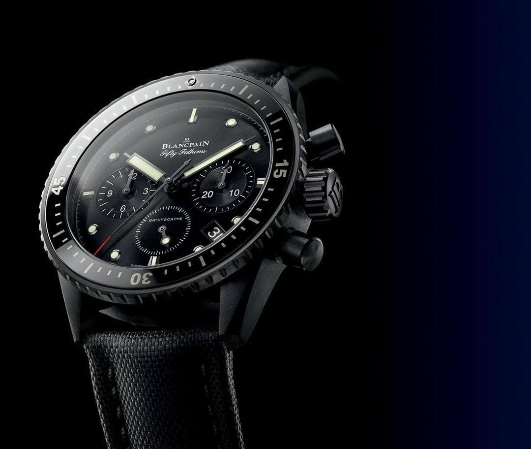 Blancpain On Instagram Fifty Fathoms Bathyscaphe Chronograph Flyback Blancpaintechnicalfriday A Diving Watch Associati Dive Watches Fifty Fathoms Blancpain