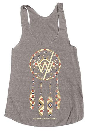 Sleeping With Sirens Symbol Grey Fit Vest