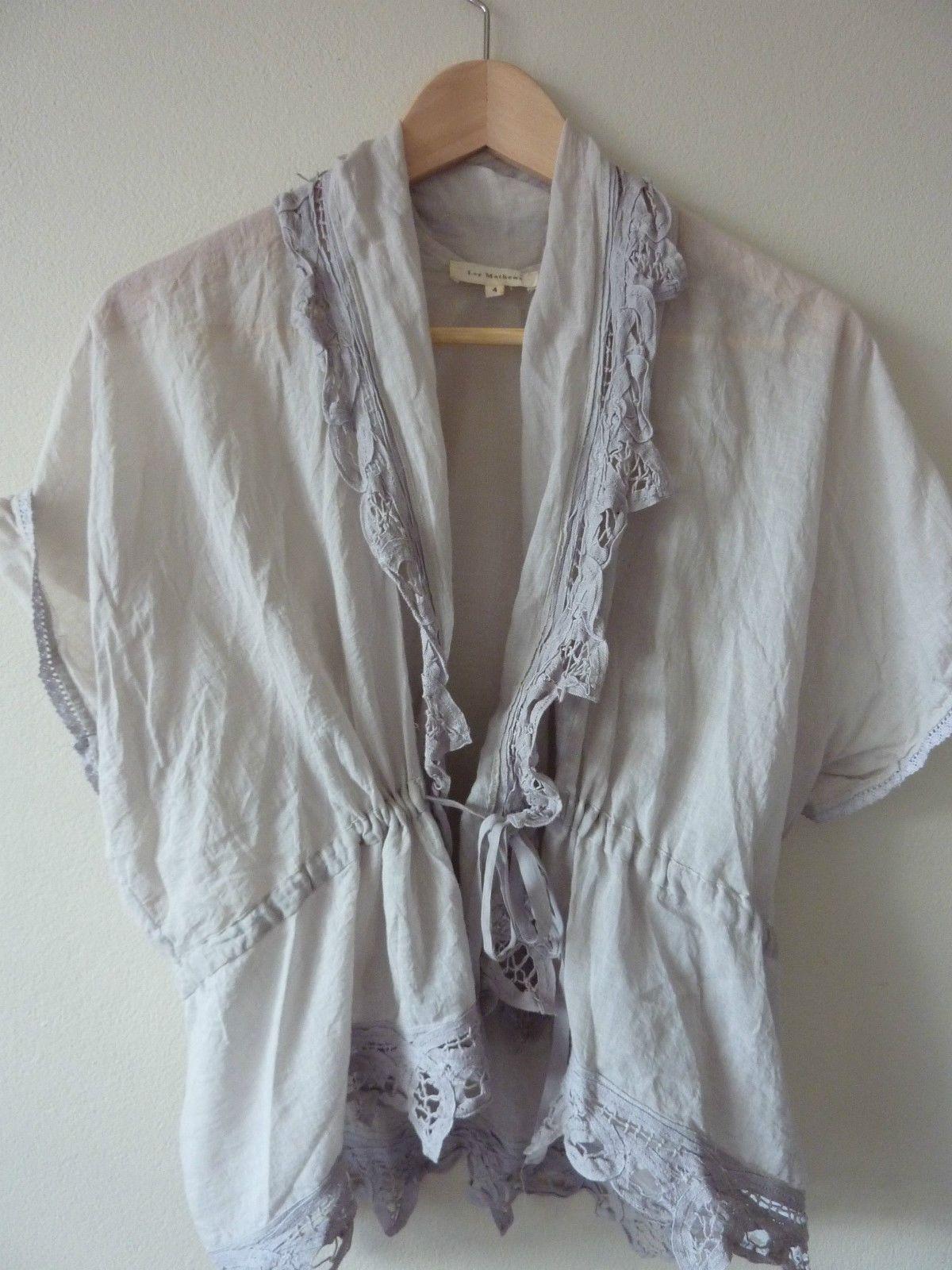 LEE Mathews Luxury Soft Cotton Cardigan
