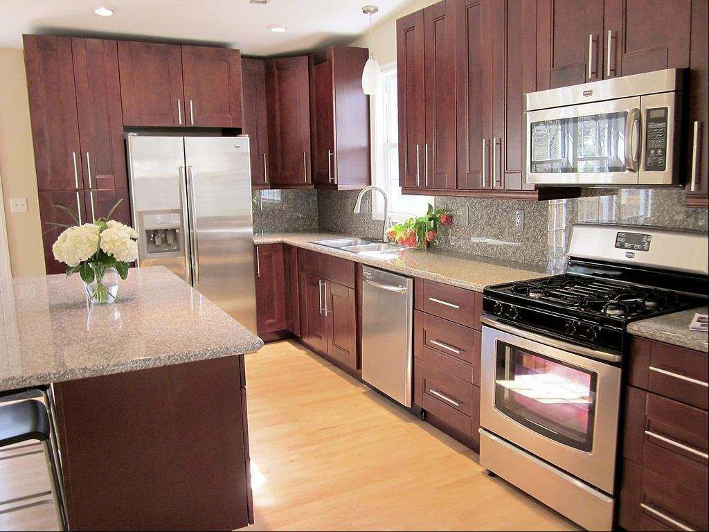 Photo of The Wonderful mahogany kitchen cabinets