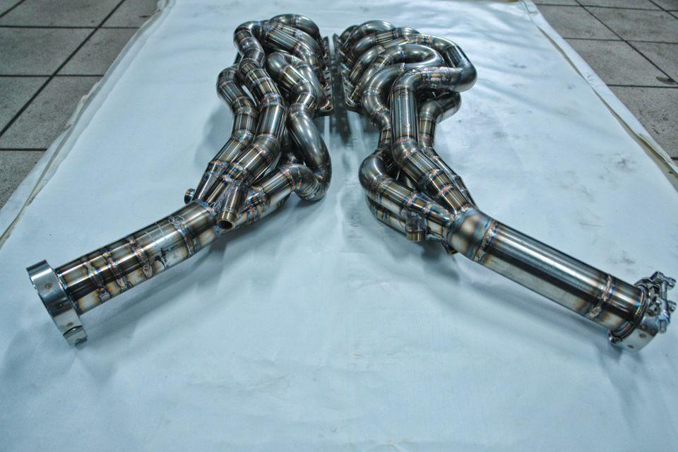 Exhaust systemsnewskiy carbon fiber voiture