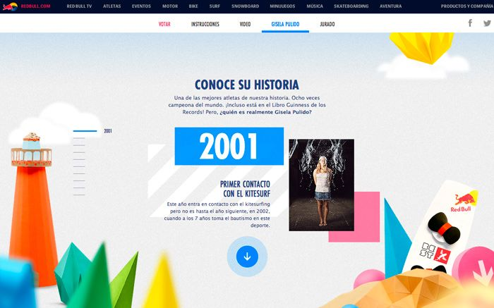 La Tabla De Gisela Web Design Inspiration Web Design Interactive Design