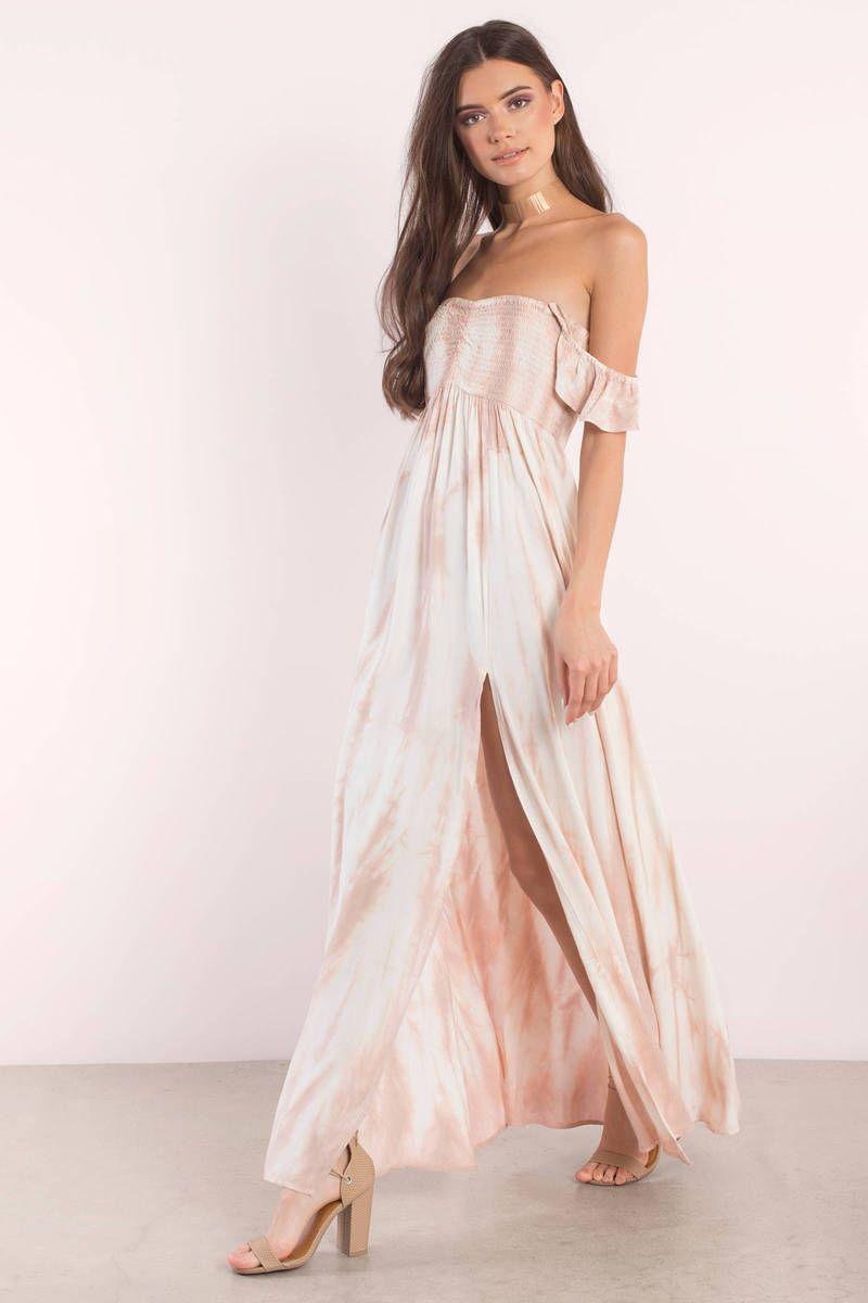 95c30bce892 Aakaa Aakaa Andrea Mauve Multi Tie Dye Maxi Dress