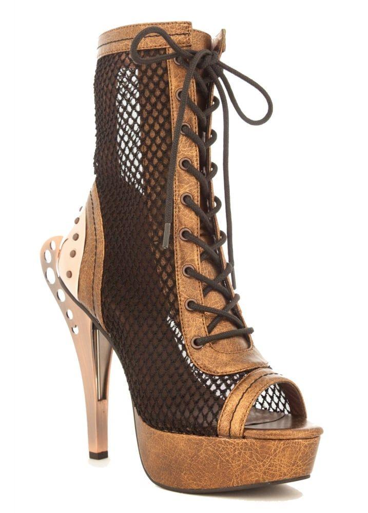 d5cc87a1e1afa4 Scarlet Goth Platform Shoes