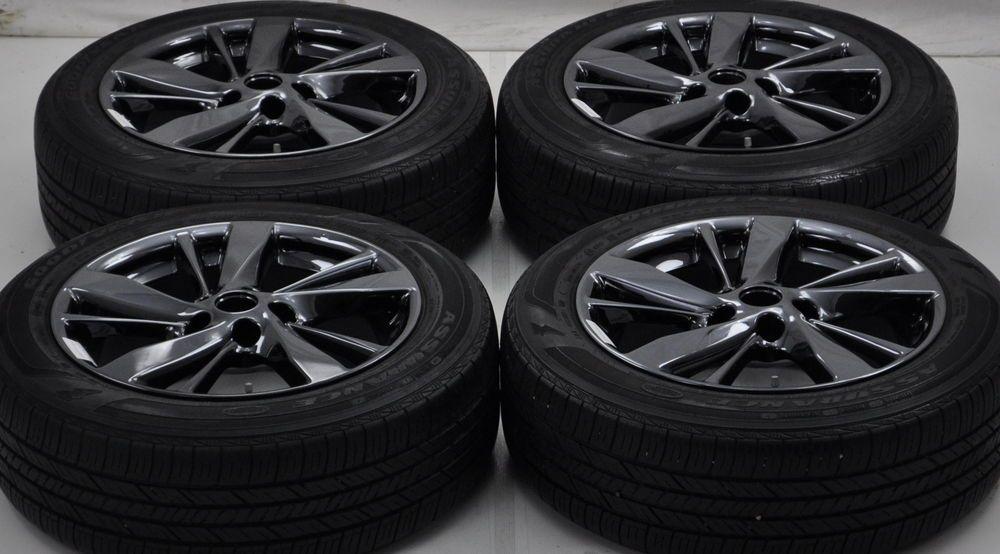 Black Chrome Rims Nissan Altima 2