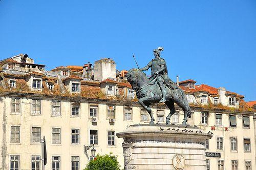 Lisbon : Praça da Figueira  2/3  - Explore #401