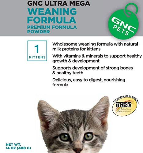 Gnc Pets Ultra Mega Weaning Formula For Kittens 14 Oz Find Out More Details By Clicking The Image Best Cat Food Best Cat Food Pets Gnc