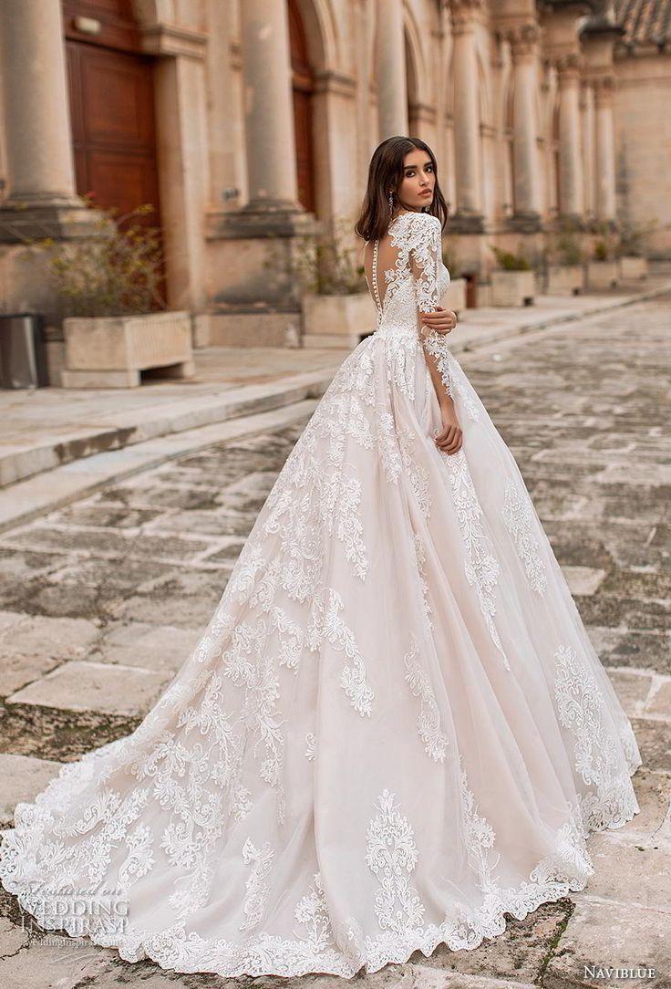 "Naviblue 2019 Wedding Dresses — ""Dolly"" Bridal Collection - June - Ich Folge #attireforwedding"