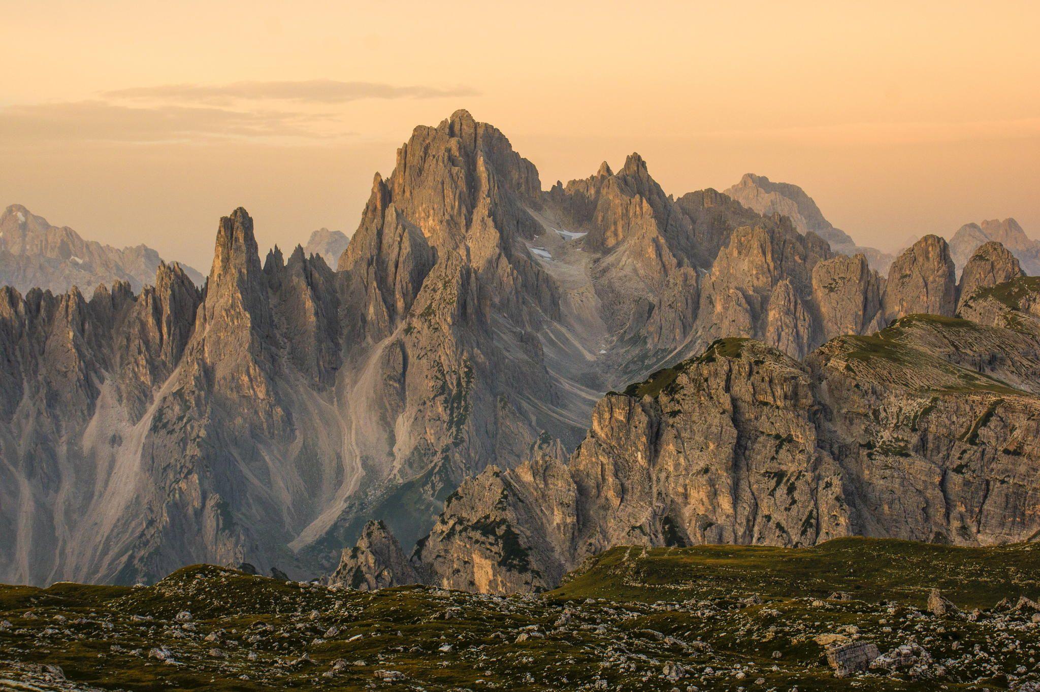 Die Cadinspitzen im Morgenlicht by Thomas Hoflacher on 500px