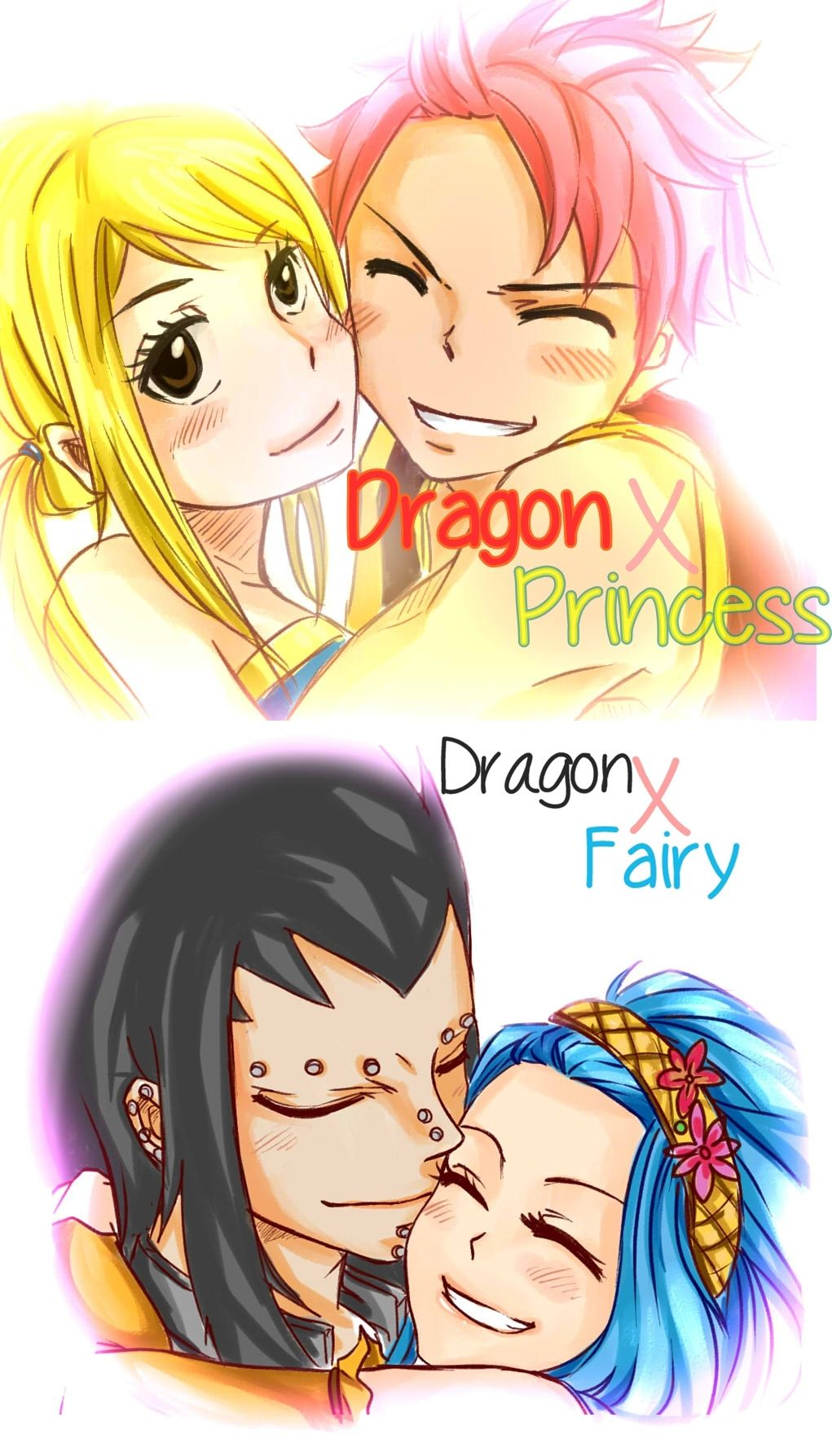 Dragon Slayers and their mates by black2sun2 deviantart com