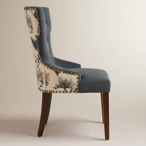 Atlantic Floral And Bird Maxine Dining Chair World Market Dining Chair Upholstery Dining Room Chairs Upholstered Dining Chairs