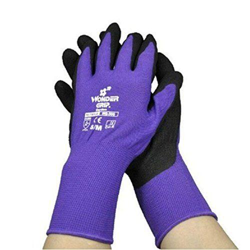 Wonder Grip Paire de gants /à double /épaisseur en latex r/ésistant au froid et /à leau Id/éal pour lhiver
